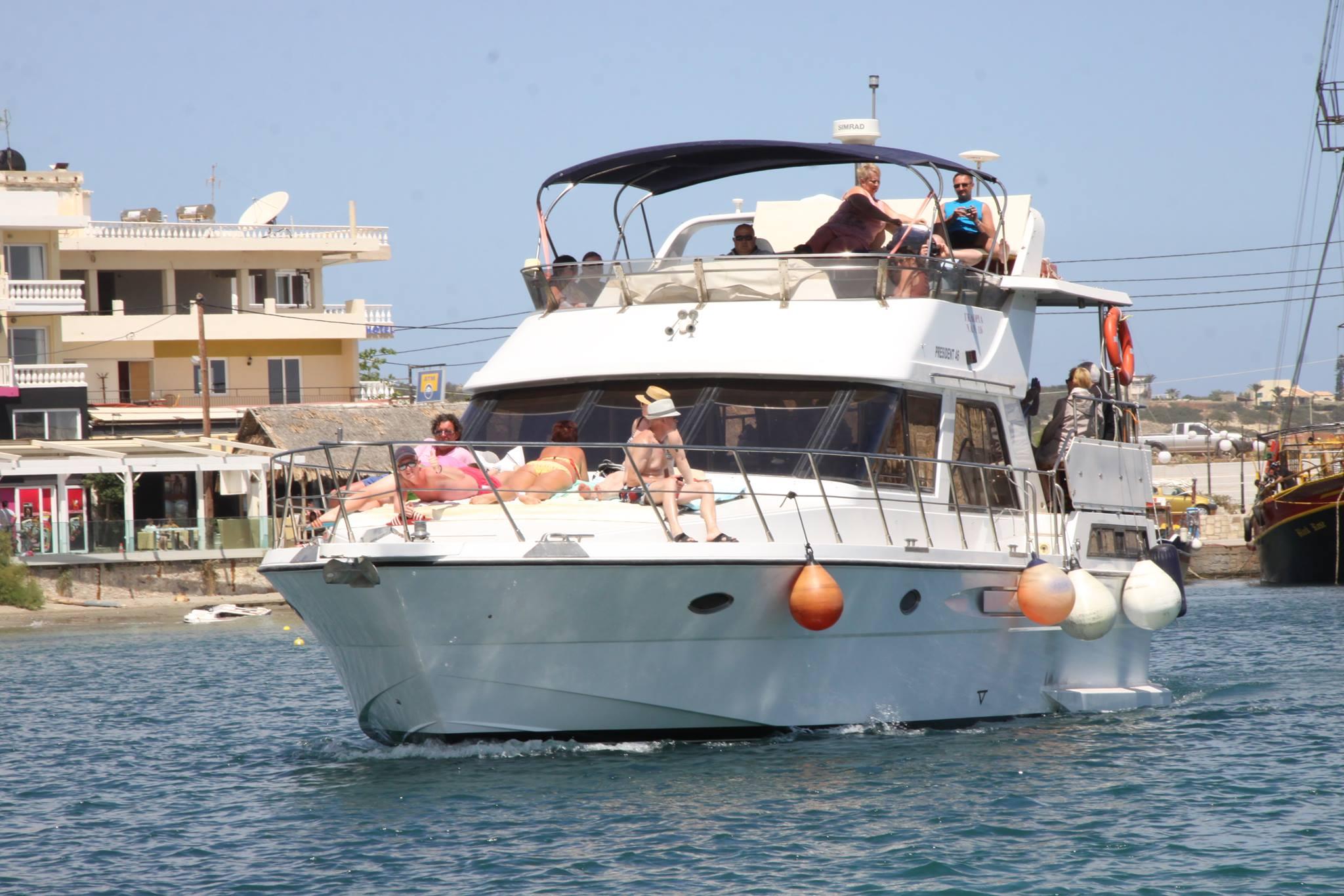 gloria boat chersonisssos